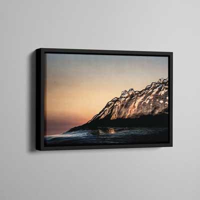 Framed Canvas 30x45cm (Frame Size 34x49cm)