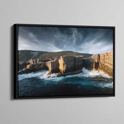 Framed Canvas 50x75cm (Frame Size 50x79cm)