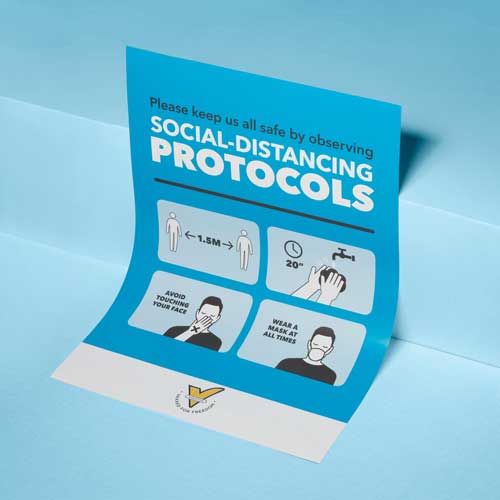 A2 Poster - Social Distancing