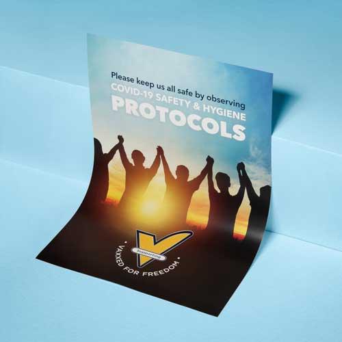A2 Poster - Safety & Hygiene Protocols