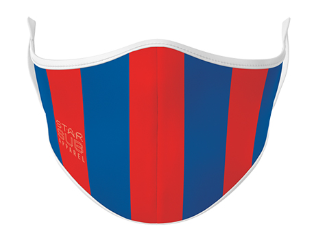 Face Mask - Red & Blue