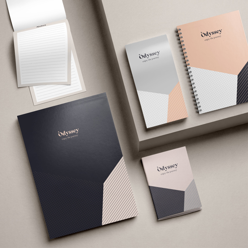 Notepads printed example