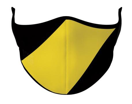 Face Mask - Black & Yellow