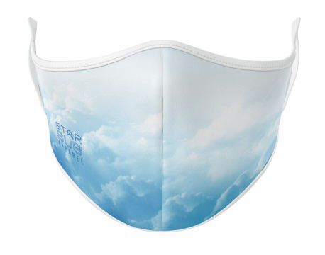 Face Mask - Clouds