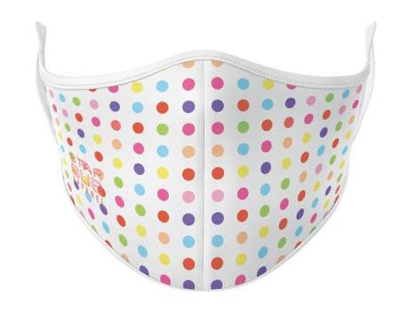 Face Mask - Coloured Dots