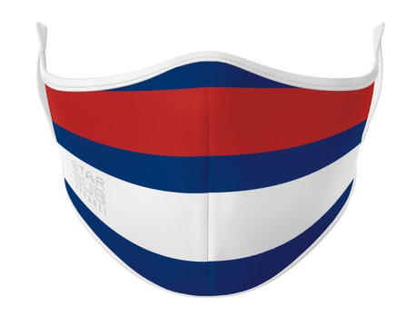 Face Mask - Red, White & Blue