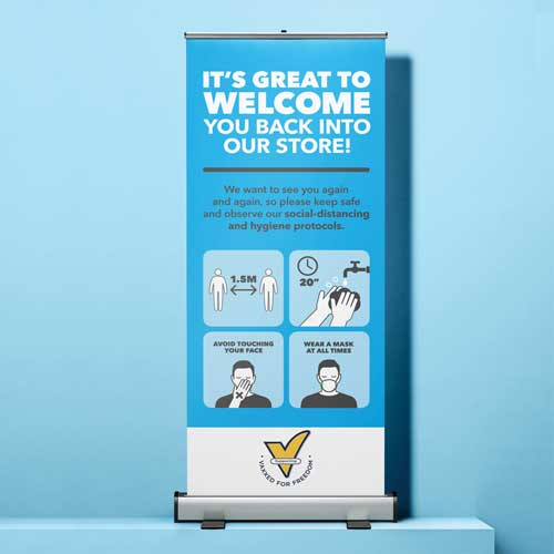 Pull-Up Banner VFF